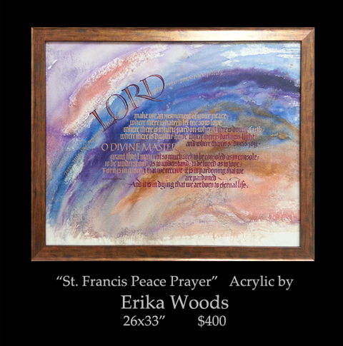 blog Feb 2013, erika, 26x33, 400, St francis peace prayer