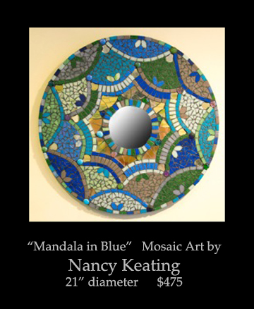 blog March 2013, nancy, 21 diameter, 475, mandala in blues